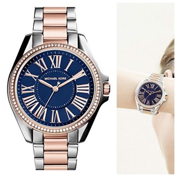 495b15e5a40e Authentic MICHAEL KORS Kacie Watch. M 5b98796aa31c33e9acd88fa2